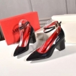 ハイヒール VALENTINO レディース コーデに高級感をプラス ヴァレンティノ 靴 サイズ感 コピー ブラック シンプル 日常 最高品質