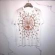 最旬!大人っぽいコーデ 半袖Tシャツシックさで楽しむナチュラルコーデ 2色可選最旬スタイルに ジバンシー GIVENCHY
