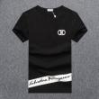 Tシャツ メンズ コピー Salvatore Ferragamo シンプルシックに演出 サルヴァトーレフェラガモ 3色可選 ストリート 完売必至