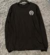 長袖Tシャツ メンズ CHROME HEARTS 優れた実用性で大好評 クロムハーツ コピー ブラック グレー ロゴ ブランド 限定セール