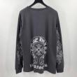 CH PLUS CHプラス クロムハーツ 長袖 品あるセンスいい Tシャツ CHROME HEARTS ブラック 限定品 メンズ コピー ブランド 安い