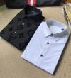 ルイヴィトン シャツ コピー 抜群な耐久性で大好評 メンズ ホワイト ブラック シンプル 相性抜群 Louis Vuitton 高品質