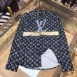 シャツ ルイヴィトン 限定 優れたデザイン性で大活躍 メンズ Louis Vuitton コピー ブラック ストリート 通勤通学 格安