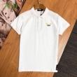2色可選 シンプルで柔らかなスタイル  半袖Tシャツ デイリースタイルを軽くなる フェンディ FENDI