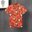 3色可選 コーデをぱっと明るく軽やかに ヴェルサーチ VERSACE シンプルコーデを今年らしくアップ半袖Tシャツ