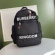 Burberry バーバリー バックパック 新作 日常にも合わせやすい レディース コピー ブラック ロゴ入り おしゃれ 完売必至
