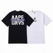 ベイシング エイプ A BATHING APE夏季新作Tシャツ通販 激安 極上のドライ感を快適な着心地 黒白