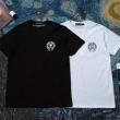 ドラえもん トレンドのトングデザイン クロム ハーツ 偽物 メンズ T-シャツ