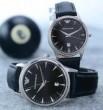 2015 首胸ロゴ  ARMANI アルマーニ 恋人腕時計 サファイヤクリスタル風防 日付表示 3色可選 オリジナル クオーツ?ムーブメント