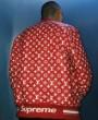 満足できるコート Louis Vuitton x Supreme 17ss 大注目! ◆モデル愛用◆