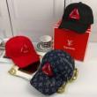 品質保証安いSUPREME シュプリーム ルイヴィトン コラボ ロゴ 総柄 ベースボールキャップ ユニセックス 帽子 3色可選
