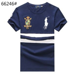 2018春夏爆買い大得価Polo Ralph Laurenポロラルフローレン tシャツ刺繍切替大きいサイズトップス半袖3色可選