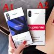 ケース カバー シュプリーム SUPREME 2018年NEWモデル iphone7 plus 特別感のある 2色可選