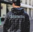 2018年春夏絶対手に入れたい! シュプリーム SUPREME ジャケット パーカ セーター コート18SS LACOSTE Reflective Grid Nylon Anorak 4色可選 高級素材を採用