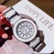 シャネル 時計 コピーCHANEL腕時計レディースクロノグラフスイス輸入クオーツ生活防水2色可選2018新作入荷