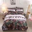 光沢ある艶AAPESupremeエーエイプシュプリーム 偽物 通販ベッドシーツベッドシーツ寝具ダブルサイズ欧米風ベッドカバーマットレスカバー