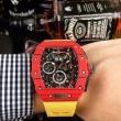3色選択可 目が離せないアイテム リシャールミル RICHARD MILLE 2018おすすめ 男性用腕時計 年齢を選ばない