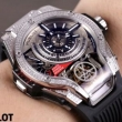HUBLOT ウブロ 肌触りが良い 魅力たっぷり逸品 2018一番最高人気 男性用腕時計 ストリートの王道!