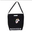 クロム ハーツ バッグ コピーCHROME HEARTSシンプルで使いやすいサイズのブラックキャンバスバッグ2way