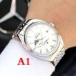 シンプルで豪華なOMEGAオメガ 腕時計 コピークロノグラフシルバーカラーメンズウォッチステンレスケースとブレスレット