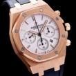 男性用腕時計AUDEMARS PIGUETオーデマピゲ ロイヤルオーク スーパーコピーオクタゴン型のケース黒ラバーベルト時計