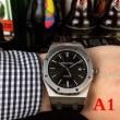 オーデマピゲ スーパーコピーAUDEMARS PIGUET男性用おしゃれな腕時計レザーベルトウォッチプレゼント