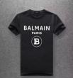 驚きの破格値品質保証 BALMAIN半袖tシャツスーパーコピー値引き通販バルマン コピー フロントにプリントロゴ付き 相性抜群年齢を問わず