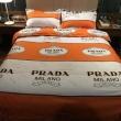 プラダ PRADA 寝具4点セット 2019秋冬の新作 スッキリとしたおしゃれ感が魅力