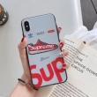 シュプリーム iPhone ケース カバー おしゃれ度をぐっと上げる人気新作 Supreme コピー プリント コラボ カジュアル 安価