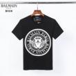 半袖Tシャツ 2色可選 春夏の着こなし正解ポイント バルマン スタイルアップ BALMAIN  トレンドの着こなしテク