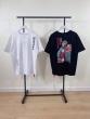 A BATHING APE ベイシング エイプ丸首ネックTシャツ通販 猿人のスケートボード OSルーズバージョン 男女適用